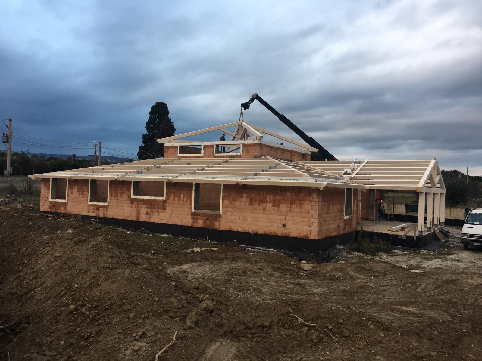 I.G.R. Group, realizzazione tetti in legno